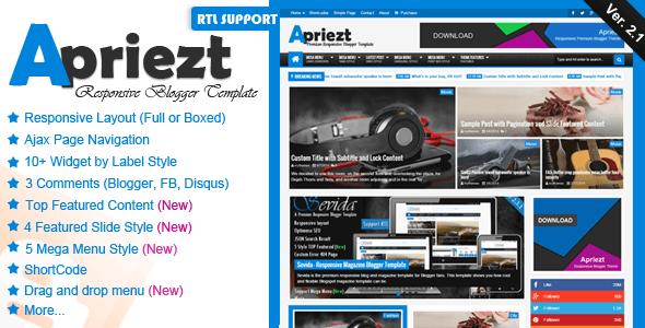 [Image: Apriezt-v2.1-Responsive-Magazine-News-Bl...mplate.png]