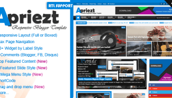 Ovation v1 0 – News/Magazine Responsive Blogger Theme Free Download