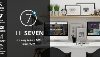 The7 v3 1 1 Responsive Multi-Purpose WordPress Theme Free
