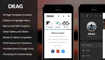 AppBar – Mobile & Tablet Responsive Template Free Download - Free