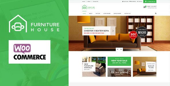 Woocommerce Wordpress Template Free Download | Furniture V1 3 4 Woocommerce Wordpress Theme Free Download Free