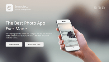 Gravity – Material Mobile & App Template Free Download - Free After