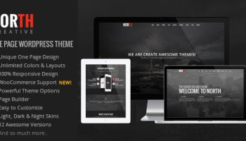 One One Page Parallax Html Free Download Free After Effects