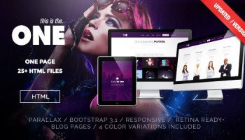 Parallax New Busines – Muse Template Free Download - Free After