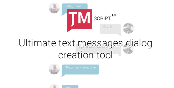 VIDEOHIVE TEXT MESSAGES ULTIMATE KIT | TMSCRIPT 1 01 FREE DOWNLOAD