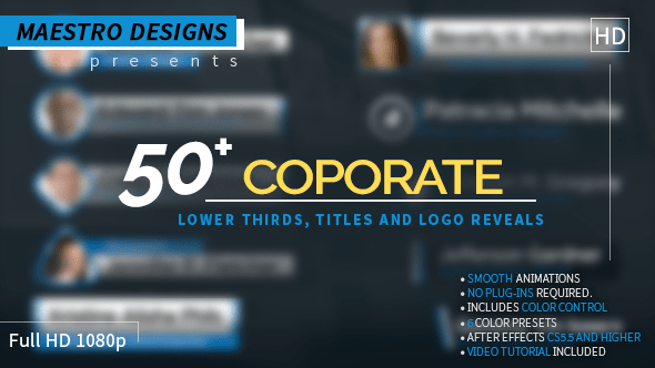 VIDEOHIVE SOCIAL LOGOS AND LOWER THIRD - FREE DOWNLOAD - Free ...