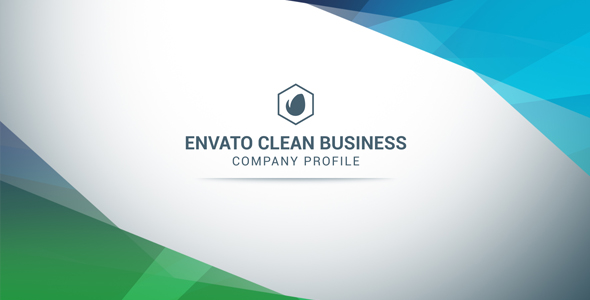 VIDEOHIVE CLEAN BUSINESS COMPANY PROFILE FREE DOWNLOAD  Company Profile Free Template