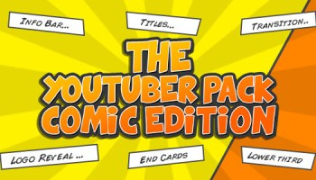 Comic Bubbles After Effects Templates - Free After Effects