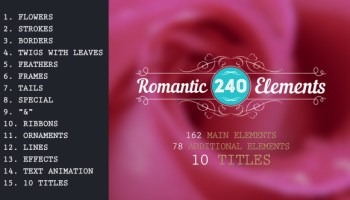 VIDEOHIVE 1000 SCRIBBLE ELEMENTS - Free After Effects
