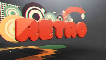 VIDEOHIVE RETRO SCREEN GLITCH LOGO - Free After Effects Template