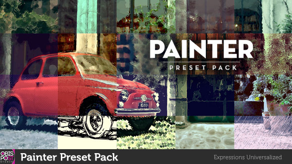 VIDEOHIVE PAINTER PRESET PACK - AFTER EFFECTS PRESETS