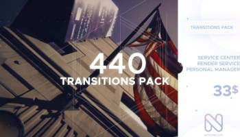 VIDEOHIVE MODERN TRANSITION PACK | 40 ITEMS - Free After