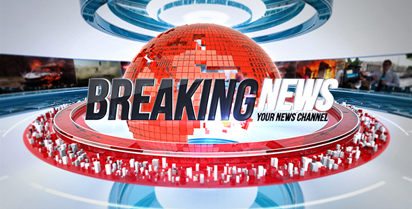 VIDEOHIVE 24 BROADCAST NEWS COMPLETE TV PACKAGE