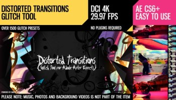 Videohive - The Ultimate Glitch + 70 Presets Pack 4060225 - Free