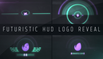 VIDEOHIVE FUTURISTIC HUD ALPHABET - Free After Effects Template