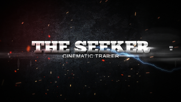 VIDEOHIVE THE SEEKER - CINEMATIC TRAILER