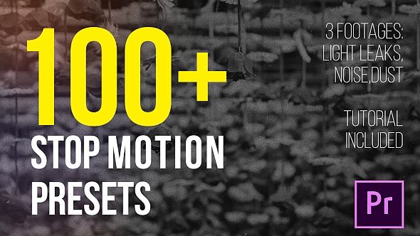 VIDEOHIVE STOP MOTION PRESETS - PREMIERE PRO