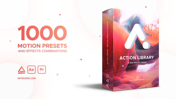 VIDEOHIVE ACTION LIBRARY – MOTION PRESETS PACKAGE - Free