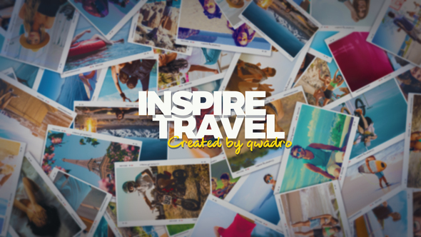 VIDEOHIVE INSPIRING TRAVEL PHOTO SLIDESHOW