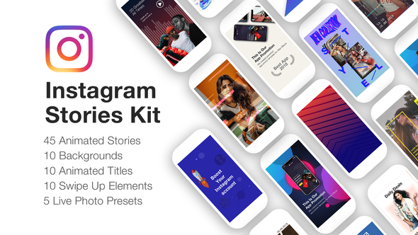 VIDEOHIVE INSTAGRAM STORIES KIT // INSTAGRAM STORY PACK