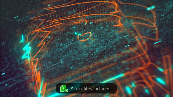 VIDEOHIVE CODE EX - ACTION GLITCH LOGO REVEAL
