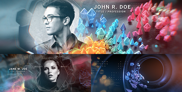 VIDEOHIVE ABSTRACT OPENER | TITLE SEQUENCE