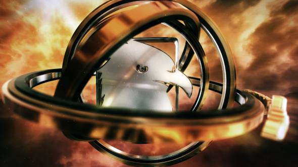 VIDEOHIVE CLOUDS & RINGS LOGO