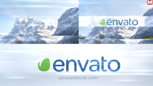 VIDEOHIVE ELEGANCE LIGHT PHOTO LOGO INTRO