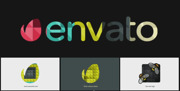 VIDEOHIVE CLEAN AND SIMPLE – MODERN LOGO REVEAL