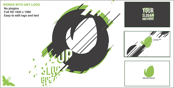 VIDEOHIVE GRAPHIC REVEAL LOGO