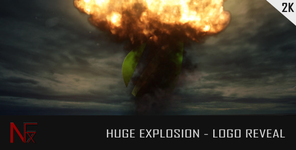 VIDEOHIVE HUGE EXPLOSION – LOGO REVEAL