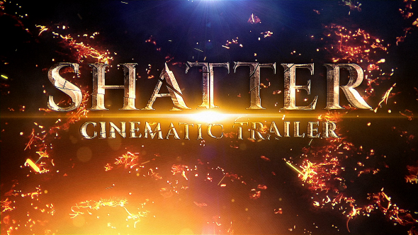 VIDEOHIVE SHATTER CINEMATIC TRAILER