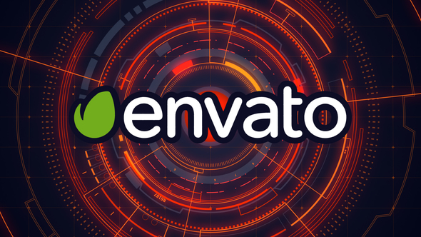 VIDEOHIVE HI-TECH HUD LOGO REVEAL 10171513