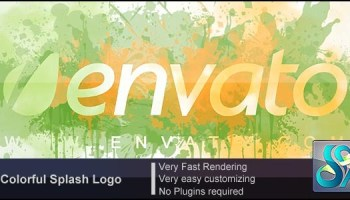 VIDEOHIVE COLORFUL SPLASH LOGO FREE DOWNLOAD - Free After