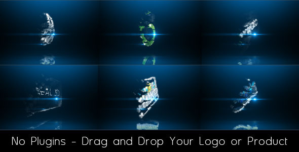 VIDEOHIVE 3D PRODUCT OR LOGO REVEAL