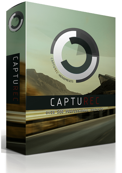 CAPTUREC - MEGABUNDLE - +500 LUTS (WIN/MAC)