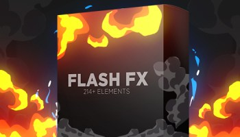 VIDEOHIVE FLASH FX ELEMENT PACK - MOTION GRAPHICS - Free