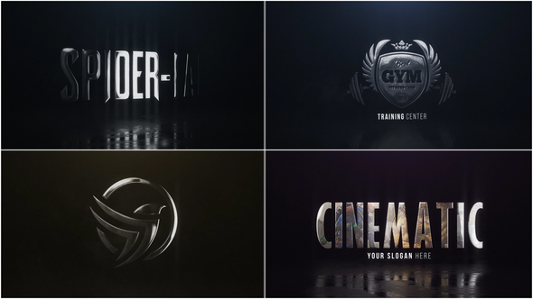 VIDEOHIVE CINEMATIC HERO LOGO