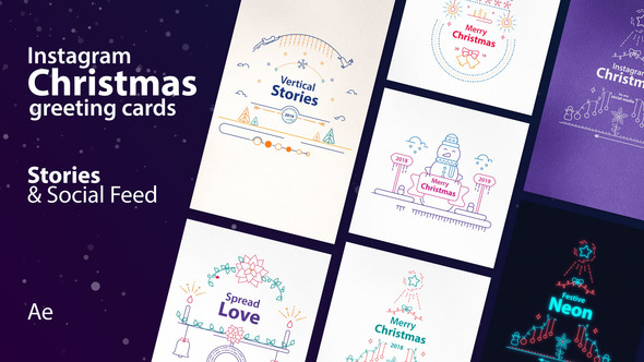 VIDEOHIVE INSTAGRAM CHRISTMAS
