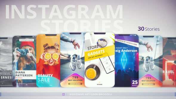 VIDEOHIVE INSTAGRAM STORIES 22972451
