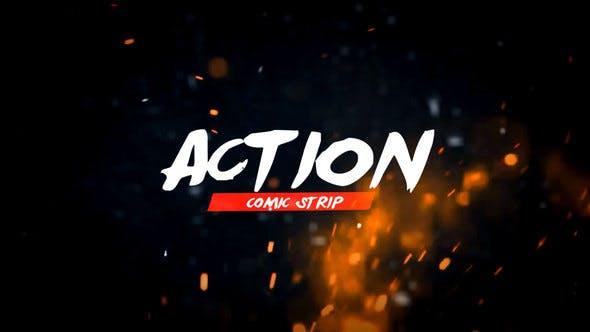 VIDEOHIVE ACTION COMIC V.2
