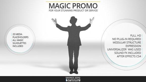 VIDEOHIVE FAVORITE MAGIC PROMO