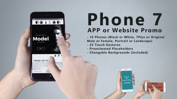 VIDEOHIVE SMARTPHONE 7 APP PROMO