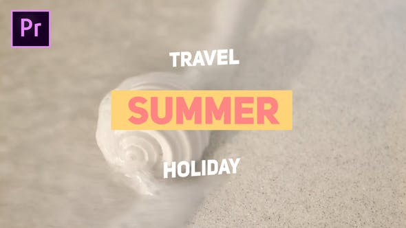 VIDEOHIVE SUMMER TRAVEL – PREMIERE PRO
