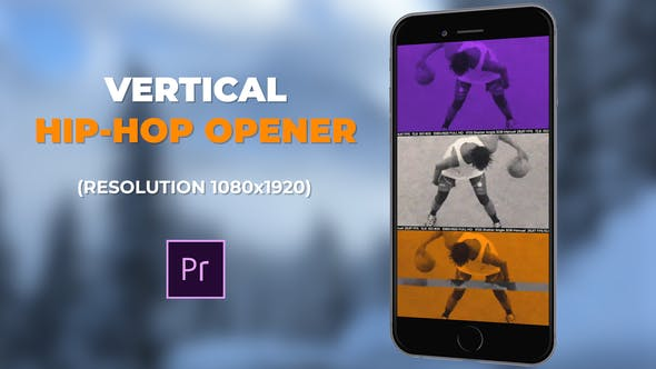 VIDEOHIVE VERTICAL HIP-HOP OPENER – PREMIERE PRO