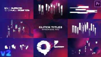 VIDEOHIVE PROJECT-X GLITCH 30 TEXT PRESETS FOR PREMIERE PRO