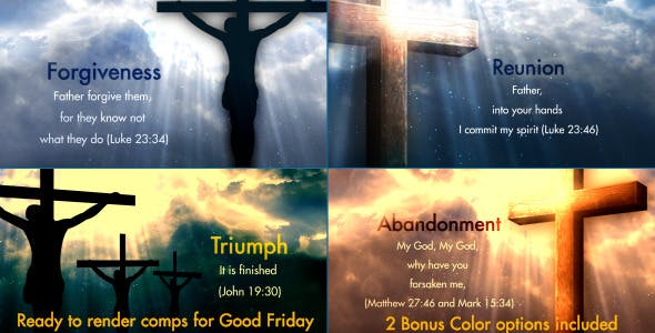 VIDEOHIVE WORSHIP HEAVEN 2 – THE SEVEN WORDS OF CHRIST