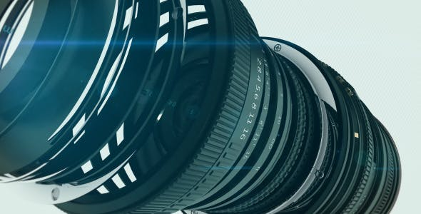 VIDEOHIVE CAMERA LOGO - APPLE MOTION