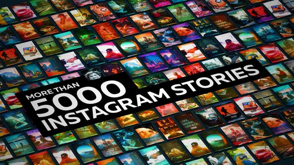 VIDEOHIVE STORIES GENERATOR - Free After Effects Template