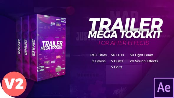 VIDEOHIVE TRAILER MEGA TOOLKIT V2